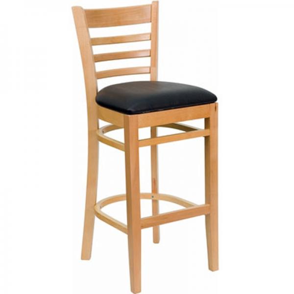 Ghế bar gỗ 04 được làm từ gỗ thông chất lượng cao