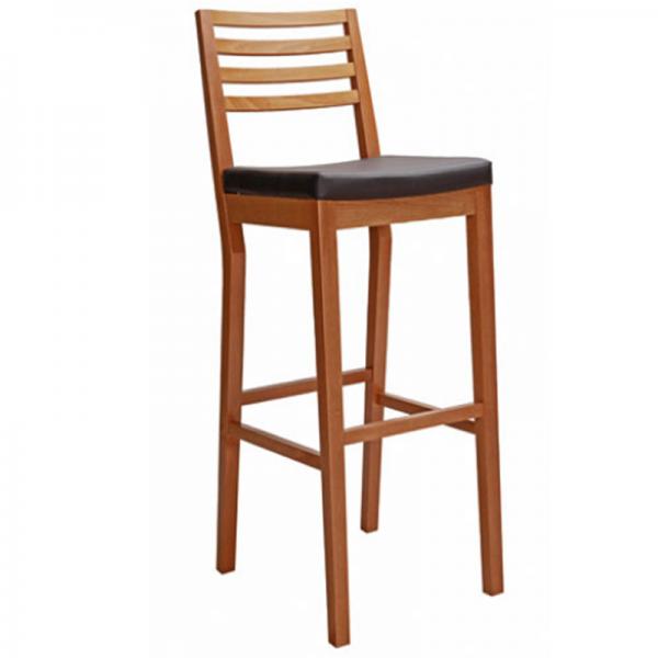 Ghế bar gỗ 08 là sản phẩm làm từ gỗ tự nhiên