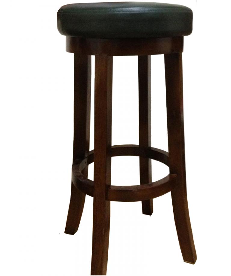 Ghế bar gỗ 12 được sản suất từ gỗ tự nhiên, không gây hại cho người dùng