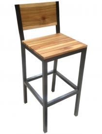 Ghế bar gỗ 14 được làm bằng gỗ sồi tự nhiên, không dùng hóa chất độc hại