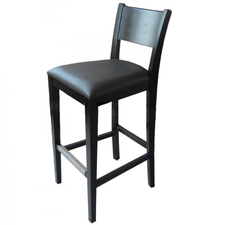Ghế bar gỗ 16 là sản phẩm ghế bar làm từ gỗ tự nhiên 100%