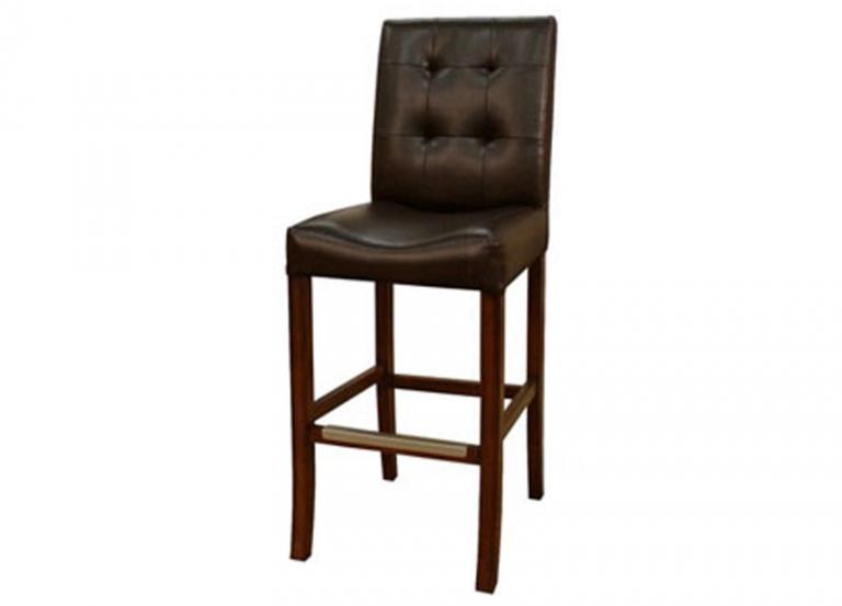 Ghế bar gỗ 18 chất liệu gỗ và da