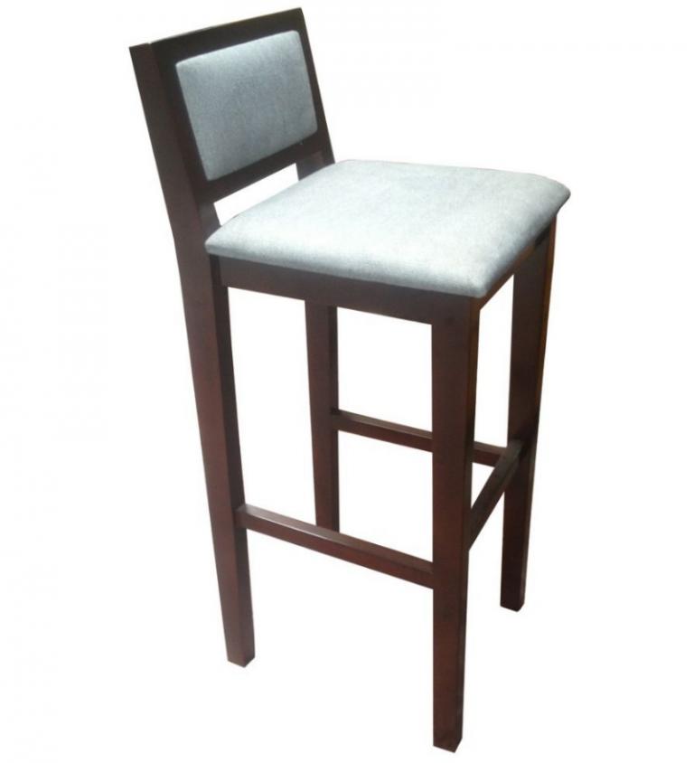 Ghế bar gỗ 19 làm từ gỗ tự nhiên, không dùng hóa chất độc hại