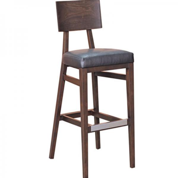 Ghế Bar Gỗ 27 làm từ gỗ tự nhiên đẹp