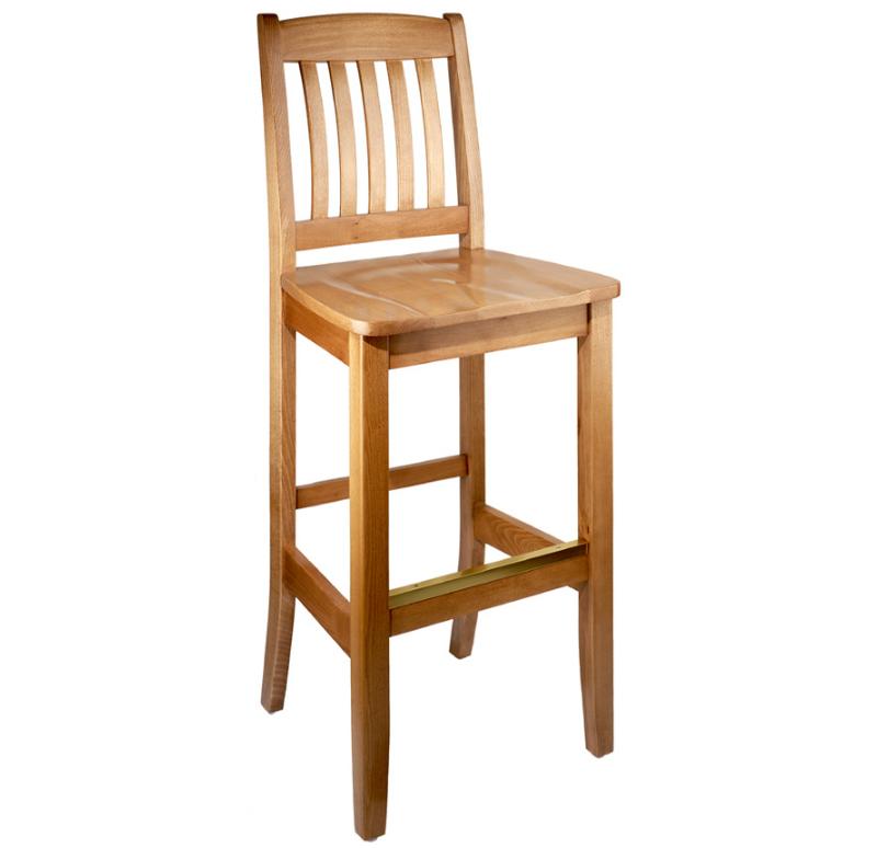 Ghế bar gỗ 24 làm từ gỗ tự nhiên, chất lượng cao tuyệt đẹp