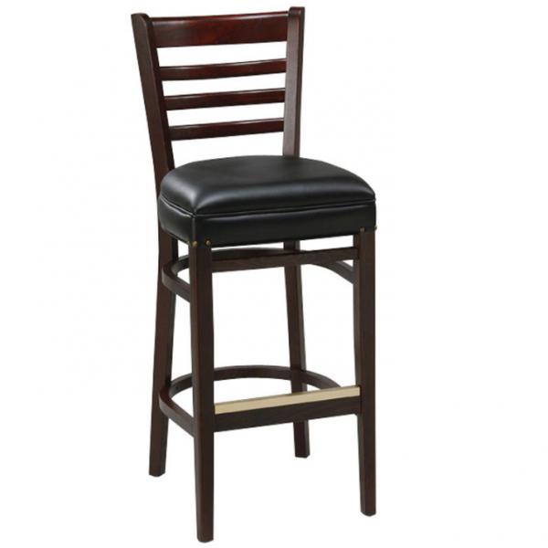 Ghế bar gỗ 25 làm từ gỗ thật, chất lượng cao