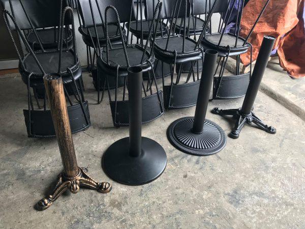 chân bàn cafe J2